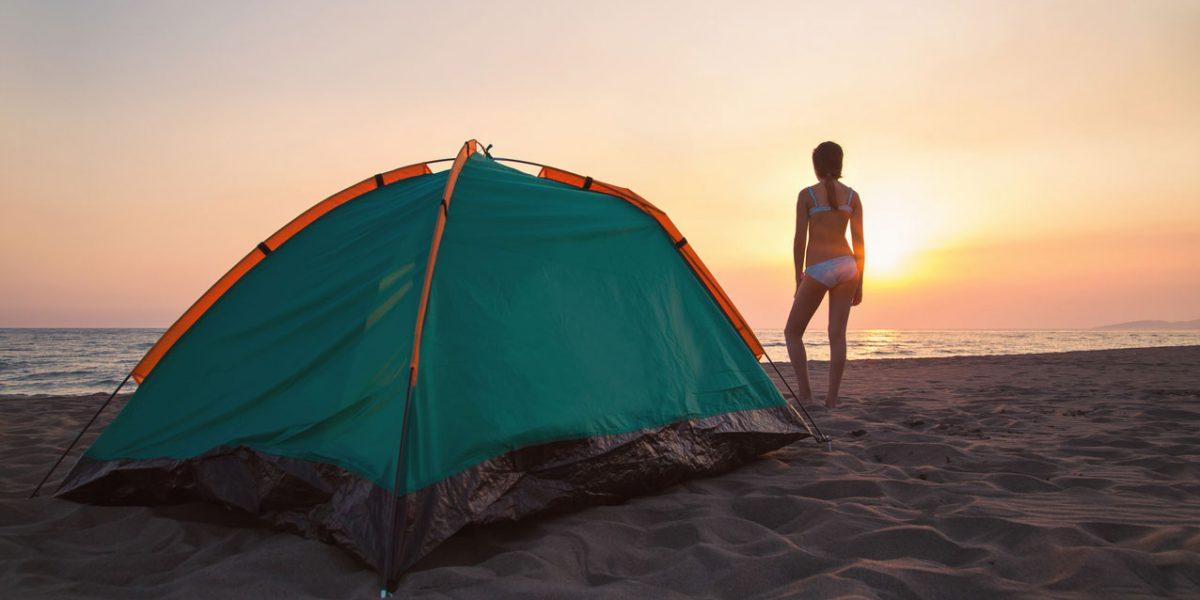 Playas para acampar en yucatán