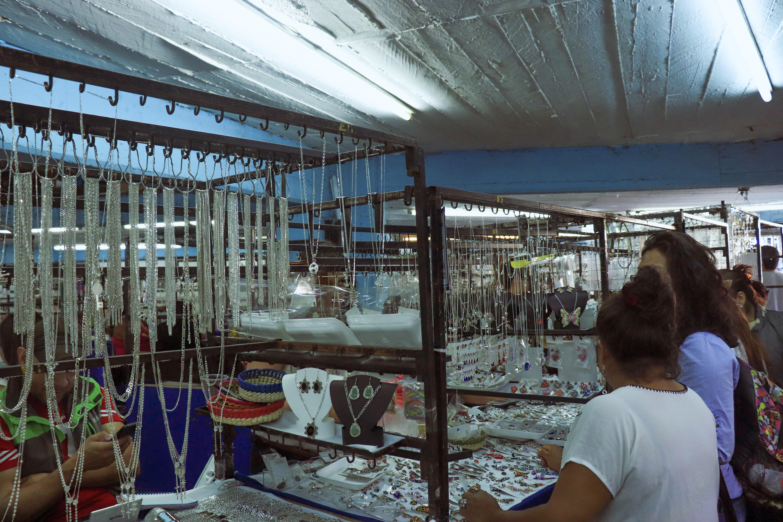 Tianguis de plata en Taxco